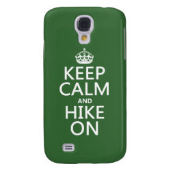 Case-Mate Barely There Samsung Galaxy S4 Case with Keep Calm and Hike On design