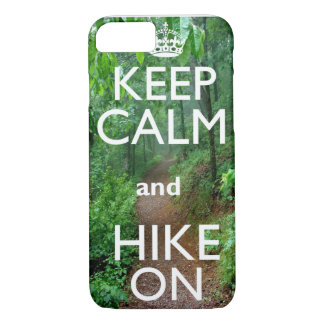 Keep Calm and Hike On iPhone 8/7 Case