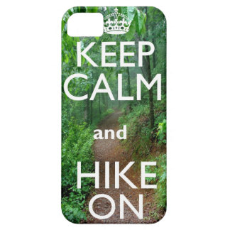 Keep Calm and Hike On iPhone SE/5/5s Case