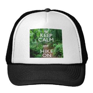 Keep Calm and Hike On Mesh Hat