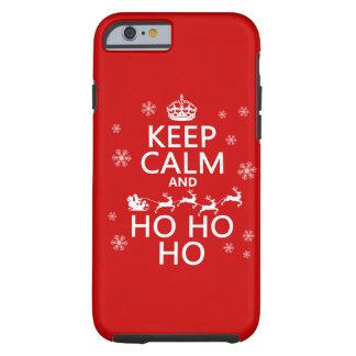 Keep Calm and Ho   - Christmas/Santa Tough iPhone 6 Case