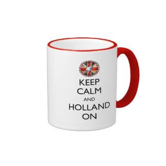 Keep Calm and Holland On Mug
