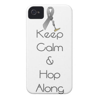 Keep Calm and Hop Along iPhone 4 Case-Mate Case