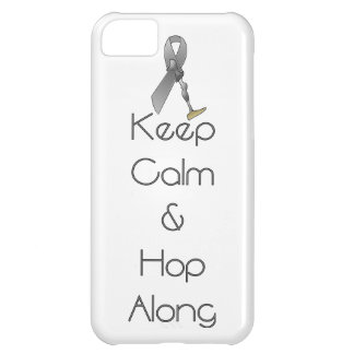 Keep Calm and Hop Along iPhone 5C Cover