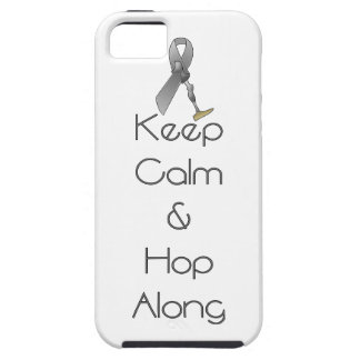 Keep Calm and Hop Along iPhone SE/5/5s Case