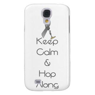 Keep Calm and Hop Along Samsung Galaxy S4 Case