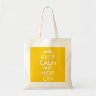 KEEP CALM and HOP ON Tote Bag