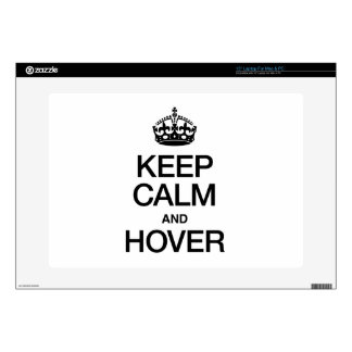 KEEP CALM AND HOVER LAPTOP DECALS