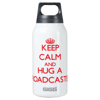 Keep Calm and Hug a Broadcaster SIGG Thermo 0.3L Insulated Bottle