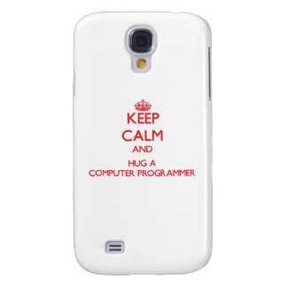 Keep Calm and Hug a Computer Programmer HTC Vivid Case