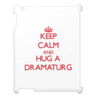 Keep Calm and Hug a Dramaturg Cover For The iPad