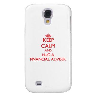 Keep Calm and Hug a Financial Adviser HTC Vivid Cases