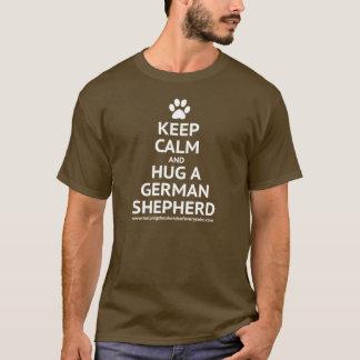 Keep Calm and Hug a GSD T-Shirt