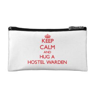 Keep Calm and Hug a Hostel Warden Cosmetic Bag