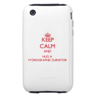 Keep Calm and Hug a Hydrographic Surveyor Tough iPhone 3 Case
