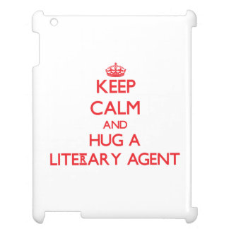 Keep Calm and Hug a Literary Agent Cover For The iPad