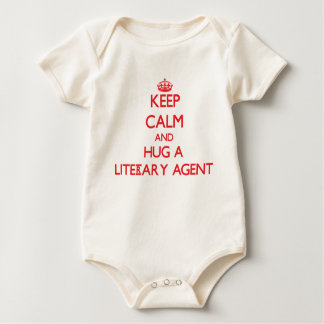 Keep Calm and Hug a Literary Agent Rompers