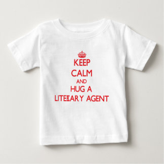 Keep Calm and Hug a Literary Agent Shirt