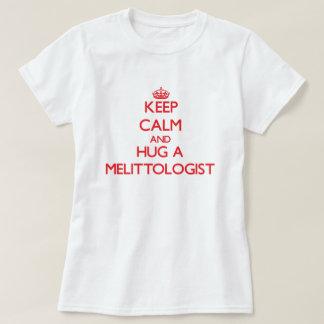 Keep Calm and Hug a Melittologist Tee Shirt