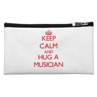 Keep Calm and Hug a Musician Cosmetic Bag