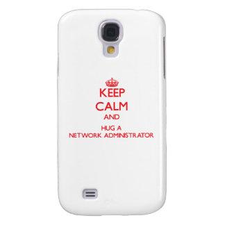 Keep Calm and Hug a Network Administrator HTC Vivid Cover