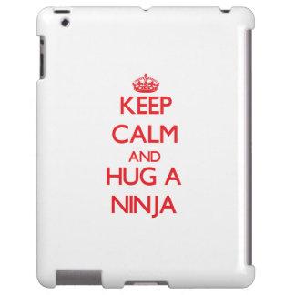 Keep Calm and Hug a Ninja