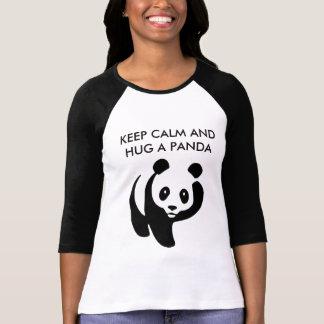 Keep Calm and Hug a Panda T-Shirt
