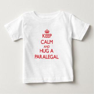 Keep Calm and Hug a Paralegal Shirt