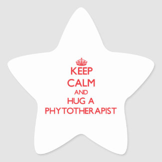 Keep Calm and Hug a Phytotherapist Stickers