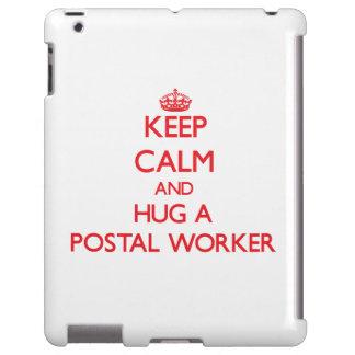 Keep Calm and Hug a Postal Worker