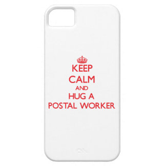 Keep Calm and Hug a Postal Worker iPhone 5 Cover