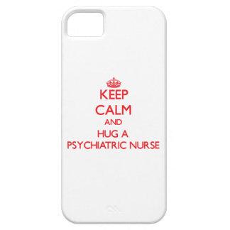 Keep Calm and Hug a Psychiatric Nurse iPhone 5 Covers