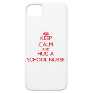 Keep Calm and Hug a School Nurse iPhone 5/5S Case