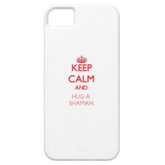 Keep Calm and Hug a Shaman iPhone 5/5S Cover