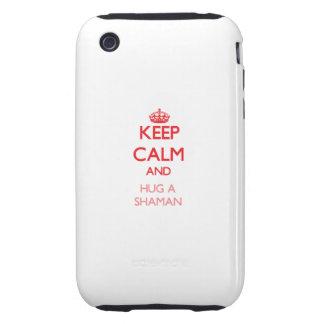 Keep Calm and Hug a Shaman iPhone 3 Tough Covers