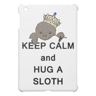 Keep Calm and Hug a Sloth Meme Case For The iPad Mini