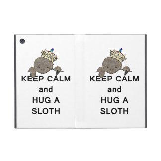 Keep Calm and Hug a Sloth Meme Covers For iPad Mini