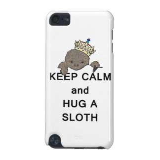 Keep Calm and Hug a Sloth Meme iPod Touch (5th Generation) Cover