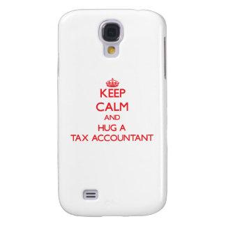 Keep Calm and Hug a Tax Accountant Galaxy S4 Covers