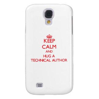 Keep Calm and Hug a Technical Author HTC Vivid Cover