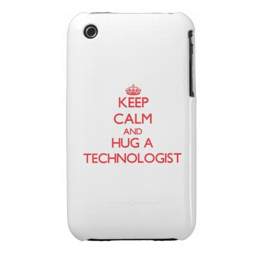 Keep Calm and Hug a Technologist Case-Mate iPhone 3 Case