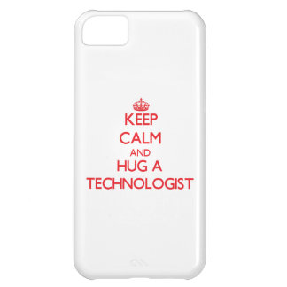 Keep Calm and Hug a Technologist iPhone 5C Covers