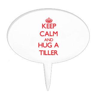 Keep Calm and Hug a Tiller Cake Topper