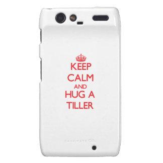 Keep Calm and Hug a Tiller Droid RAZR Cover