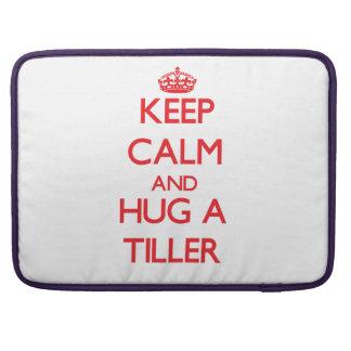 Keep Calm and Hug a Tiller Sleeve For MacBook Pro