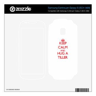 Keep Calm and Hug a Tiller Samsung Continuum Skins