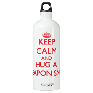 Keep Calm and Hug a Weapon Smith SIGG Traveler 1.0L Water Bottle