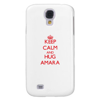 Keep Calm and Hug Amara Galaxy S4 Cases