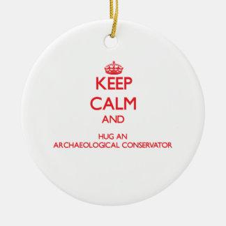 Keep Calm and Hug an Archaeological Conservator Ornaments