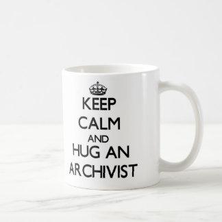Keep Calm and Hug an Archivist Mug